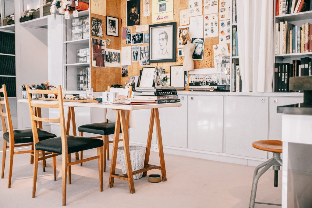 Salon de estudio arte