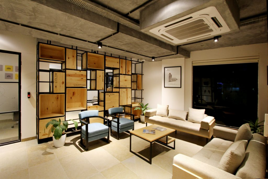 Salon interior vivienda